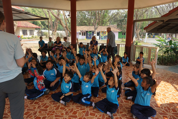 Caitlin, English language activities at a private school in Chiang Mai, Thailand