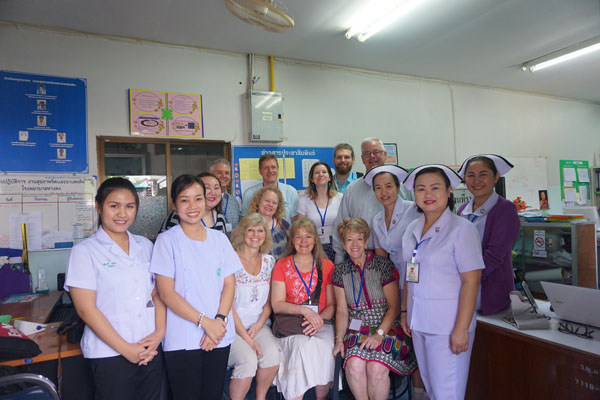Mental health wing of the hospital in Chiang Mai, Thailand