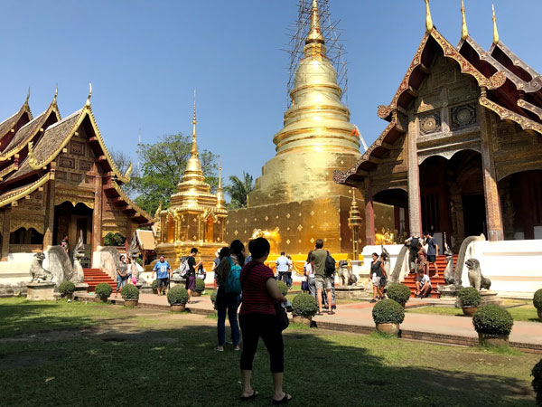 Thailand, a country of many temples